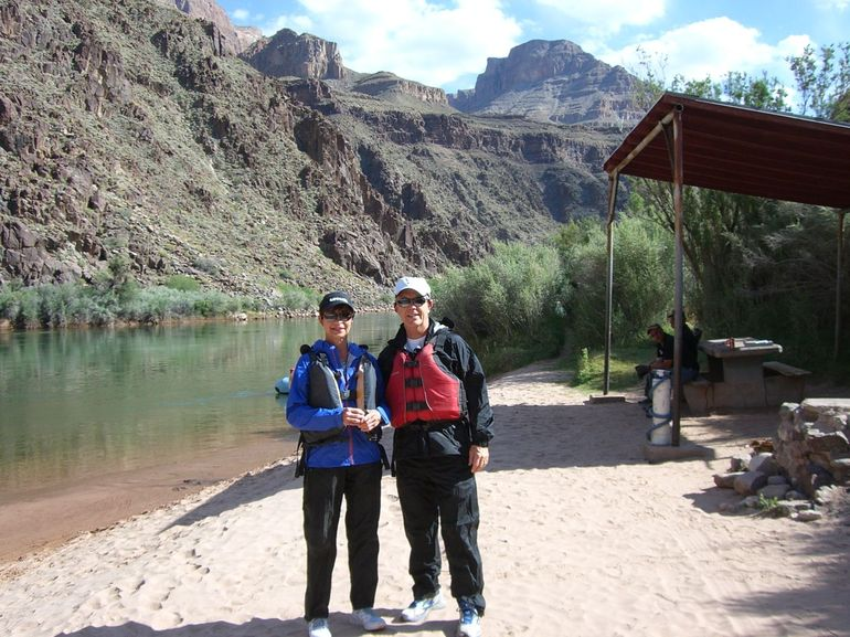 Beginning of White Water Grand Canyon Rafting Tour