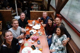 Stop 2 on the Prague Beer and Czech Tapas Evening Walking Tour , Aaron H - May 2016