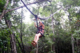Photo of Cancun 4-in-1 Tulum Adventure: Zipline, Cavern Rappel, Cave Snorkel and Skycycle Avatar zipline