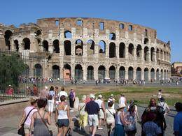 Photo of Rome Ancient Rome Half-Day Walking Tour collesium