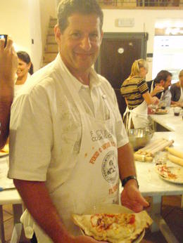 Photo of Florence Florence Cooking Class: Learn How to Make Gelato and Pizza Gary and his prized Calzone