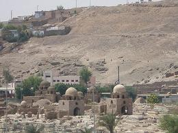Looking down over the graveyard in Aswan. - May 2008
