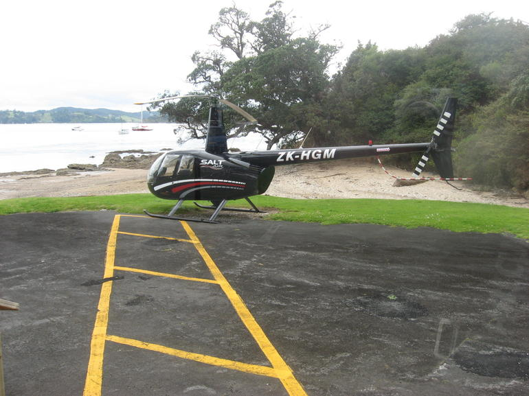 Helicopter - Bay of Islands