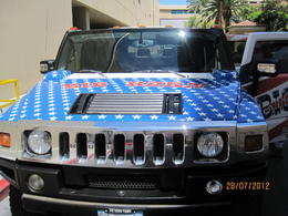 awesome hummer , AC D - August 2012