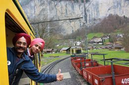 Train to Jungfrau , Tejinder S - April 2015