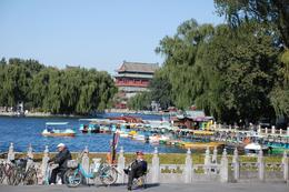 Photo of Beijing Private Custom Tour: Beijing in One Day Lake near the hutongs