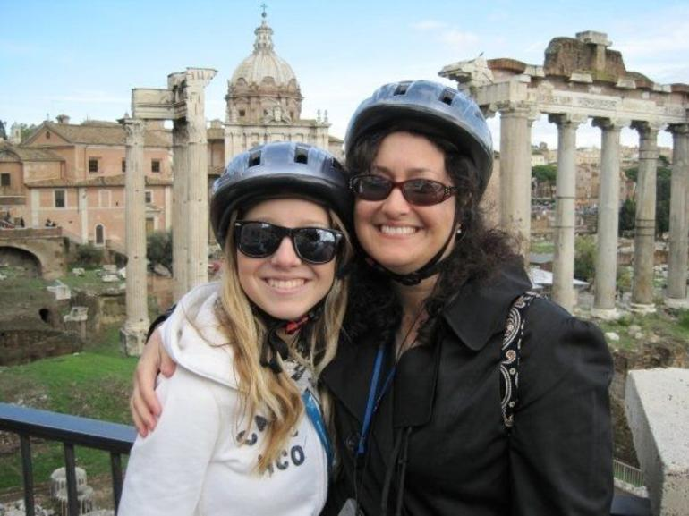 Laura & Ashley at the Roman Forum - Rome