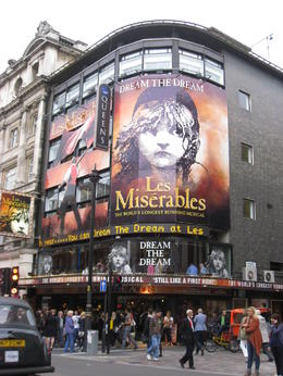 Photo of London Les Miserables Theater Show Les Mis.