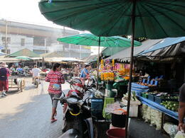 The food market we stopped at. The fruit was delicious! , Jill - November 2011