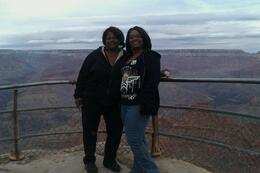 Photo of Las Vegas Grand Canyon South Rim Bus Tour with Optional Upgrades Me and my Mom