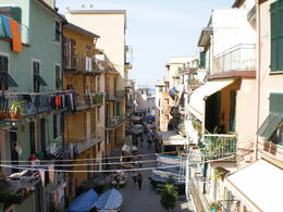 Open windows, boats and clotheslines dominant the streets of of these small Cinque Terre village. , Jaybird - May 2011