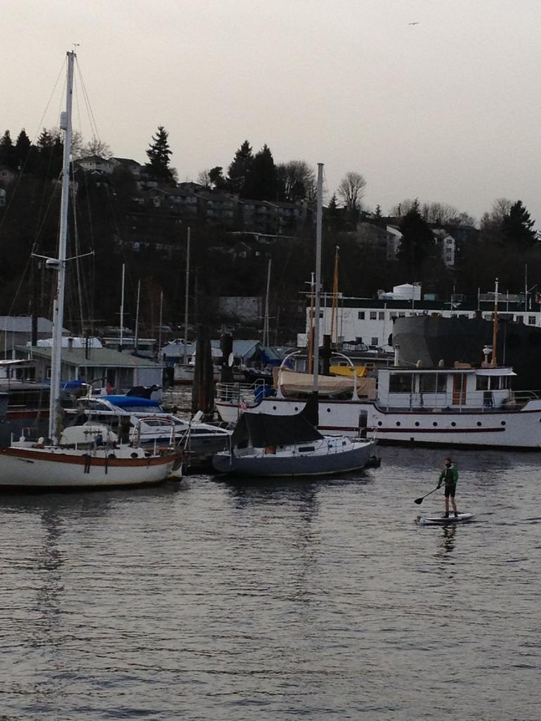 Paddleboarder - Seattle