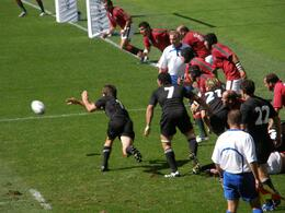 The New Zealand vs. Portugal match in the 2007 Rugby World Cup in France., Tighthead Prop - September 2010