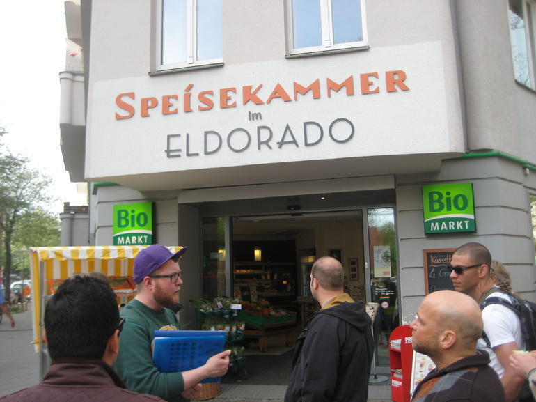 Site of the El Dorado Bar - Hamburg