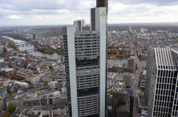 Commerzbank is pictured here in front of the city centre. , David Lally - December 2014