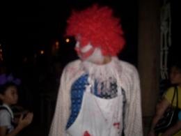 Photo of Singapore Singapore Zoo Night Safari Tour with optional Buffet Dinner Wandering halloween clown