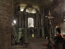 Photo of Krakow Wieliczka Salt Mine Half-Day Trip from Krakow Cathedral altar