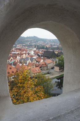 View from the castle hilltop. , Jill - October 2014