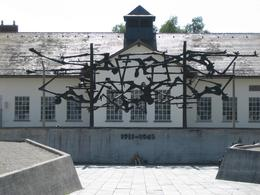 Photo of Munich Dachau Concentration Camp Memorial Small Group Tour from Munich Dachau Monument