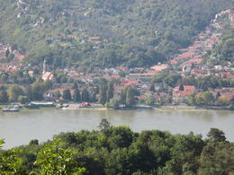 Slovakia across the river , Perry M - October 2014