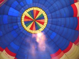 Photo of Phoenix Phoenix Hot Air Balloon Ride Filling up the balloon