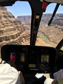Arrival at the grand Canyon...fantastic feeling ! , Pierre L - June 2016
