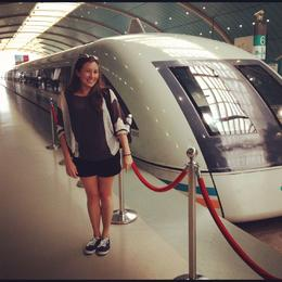Photo of Shanghai Departure Transfer by High-Speed Maglev Train: Hotel to Shanghai Pudong International Airport Me and the Maglev