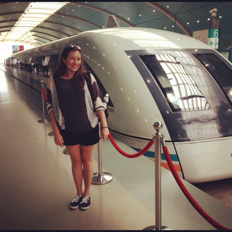 Me and the Maglev - Shanghai