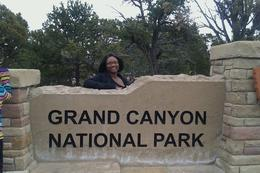 Photo of Las Vegas Grand Canyon South Rim Bus Tour with Optional Upgrades Me at the South Rim