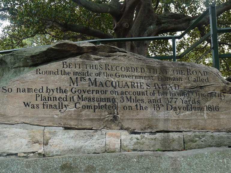 Mrs MacQuarie's Chair - Sydney