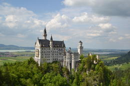 The best view of Neuschwanstein Castle , DANILO EMANUEL L - July 2013