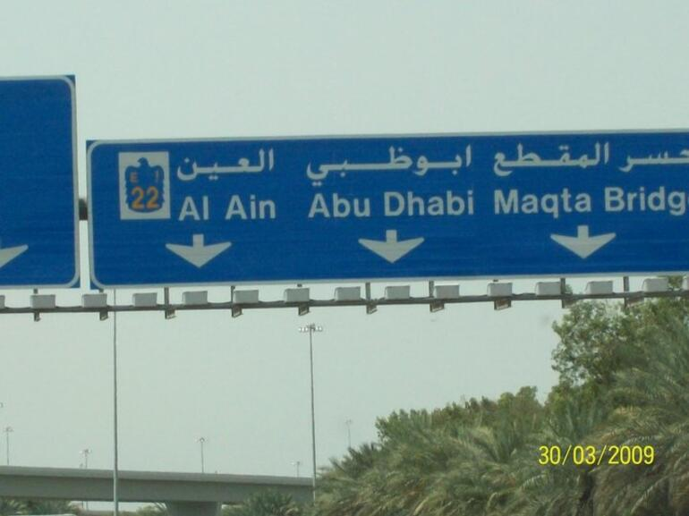 On our way to Abu Dhabi - United Arab Emirates