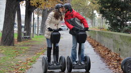 Photo of Paris Paris City Segway Tour Tender moments along the Siene