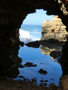 Hidden gem, just a few kilometers away from Port Campbell- the Grotto! , Iris D - January 2016