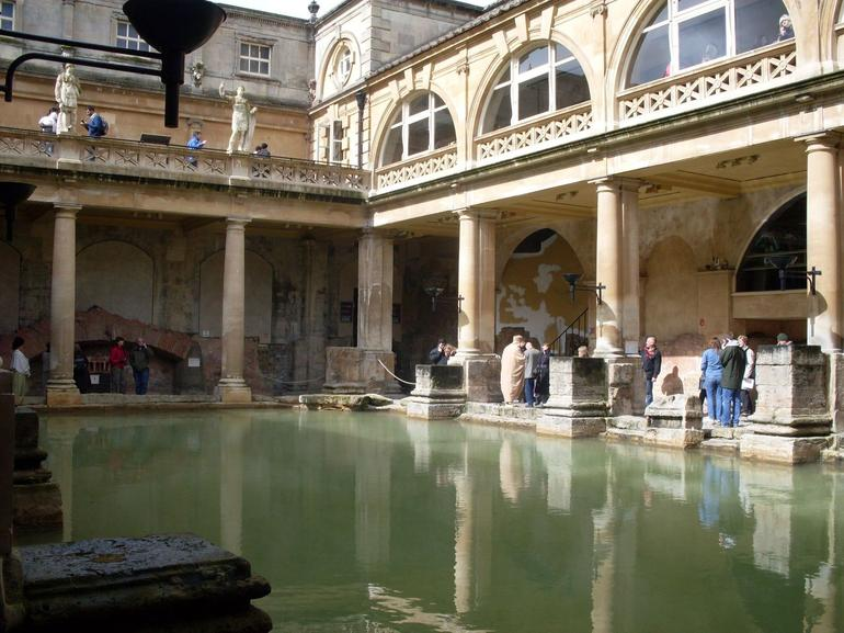 The Roman Baths, Bath - London