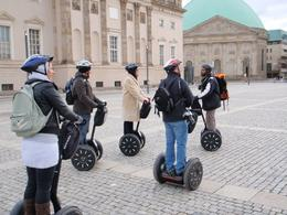 Photo of Berlin Berlin Segway Tour trying to teach us!