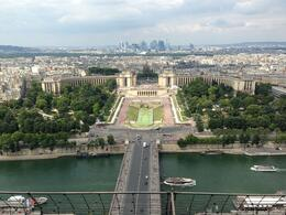 Photo of Paris Skip-the-Line Eiffel Tower Ticket in Paris View from 2nd floor of Eiffel Tower facing Trocadero