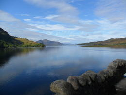This was a view of the Loch from the castle where they made the movie 'Highlander'. , Keith H - September 2011