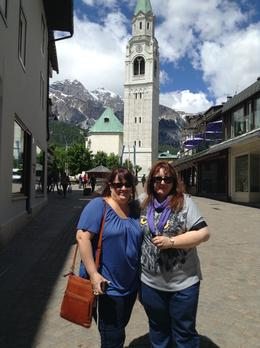 My sister and I in one of the towns we stopped at on the day , Leanne D - June 2014