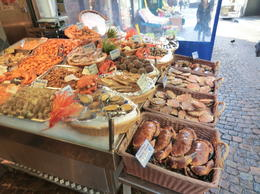 Fresh seafood shop , Tony - December 2011