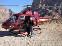 Photo of Las Vegas Grand Canyon All American Helicopter Tour In the Grand Canyon by our Heliopter