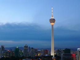 Photo of Kuala Lumpur Private Tour: KL Tower Revolving Restaurant Buffet Dinner and Central Market Night Tour KL Tower