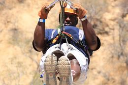 Photo of Los Cabos Los Cabos Canopy Tour Maintaining my form!