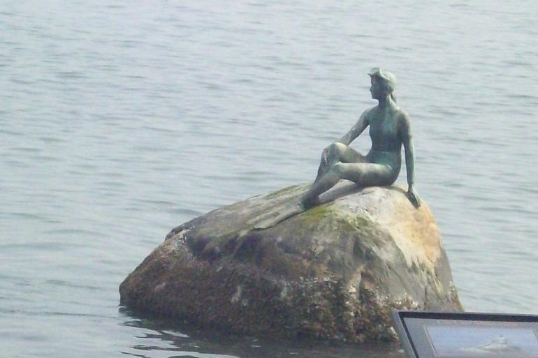 Mermaid on a Rock - Vancouver