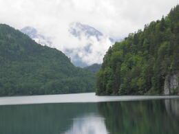 Beautiful Lake Alpsee , Stephen P - June 2012