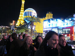 The famous Las Vegas Strip, Jeff - February 2012