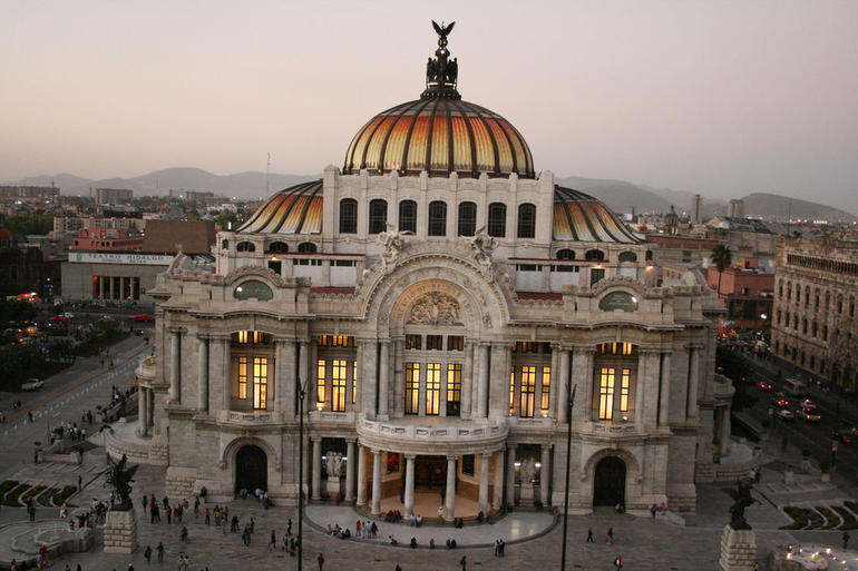 Palacio de Bellas Artes - Mexico City