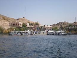 Boat ride to Philae Temple in Aswan - May 2008