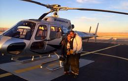 Photo of Las Vegas Grand Canyon West Rim Luxury Helicopter Tour Posing at the Grand Canyon