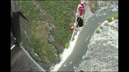Photo of Queenstown Queenstown Nevis Highwire Bungy Jump Pulling me up